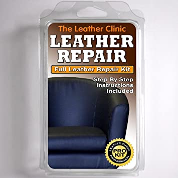 Outstanding Dark Blue Leather Sofa Chair Repair Kit For Tears Holes Scuffs With Colour Dye Download Free Architecture Designs Estepponolmadebymaigaardcom