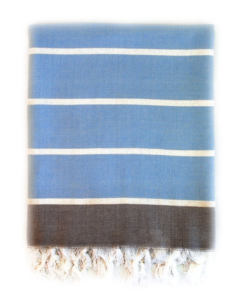 Amazon.com: SIDE Pestemal Turkish Towel 100% Cotton Dual Side - Yoga ...