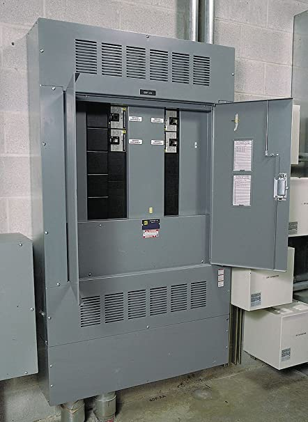 SCHNEIDER ELECTRIC HCN41836 Panelboard Int Iline 600-Amp Mlo 3-Phase on