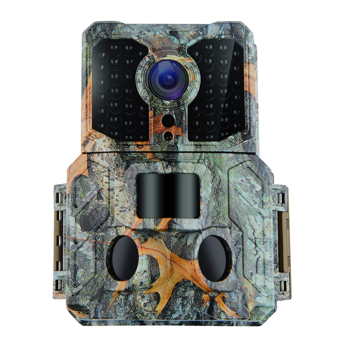 Kuool K3 Trail Camera with Night Vision Motion Activated 48pcs 850NM IR LEDs,1080P 16MP Wildlife Hunting Game Cam,3 Trigger Sensors 0.2s Trigger Speed 130°PIR Sensor Angle 2.0'' LCD Display IP65