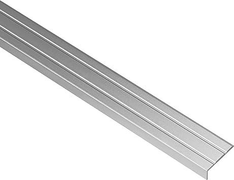 1 metro - perfiles de borde en aluminio anodizado y antioxidante - perfil de esquina de 25 x