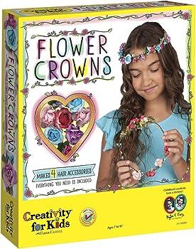 Creativity For Kids Hair Accessories Flower Crowns