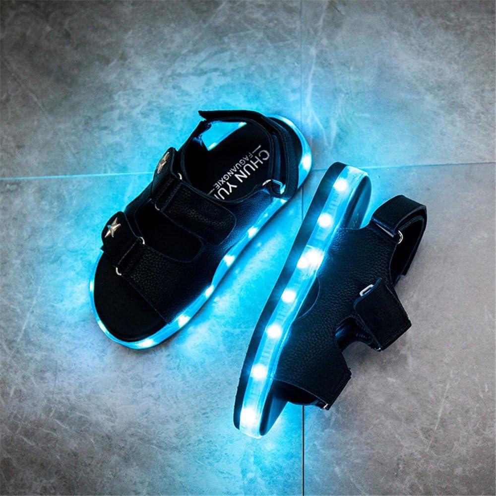 edv0d2v266 Children Shoes LED Sandals Shoes Lighted Kids Shoe for Children Boys Girls