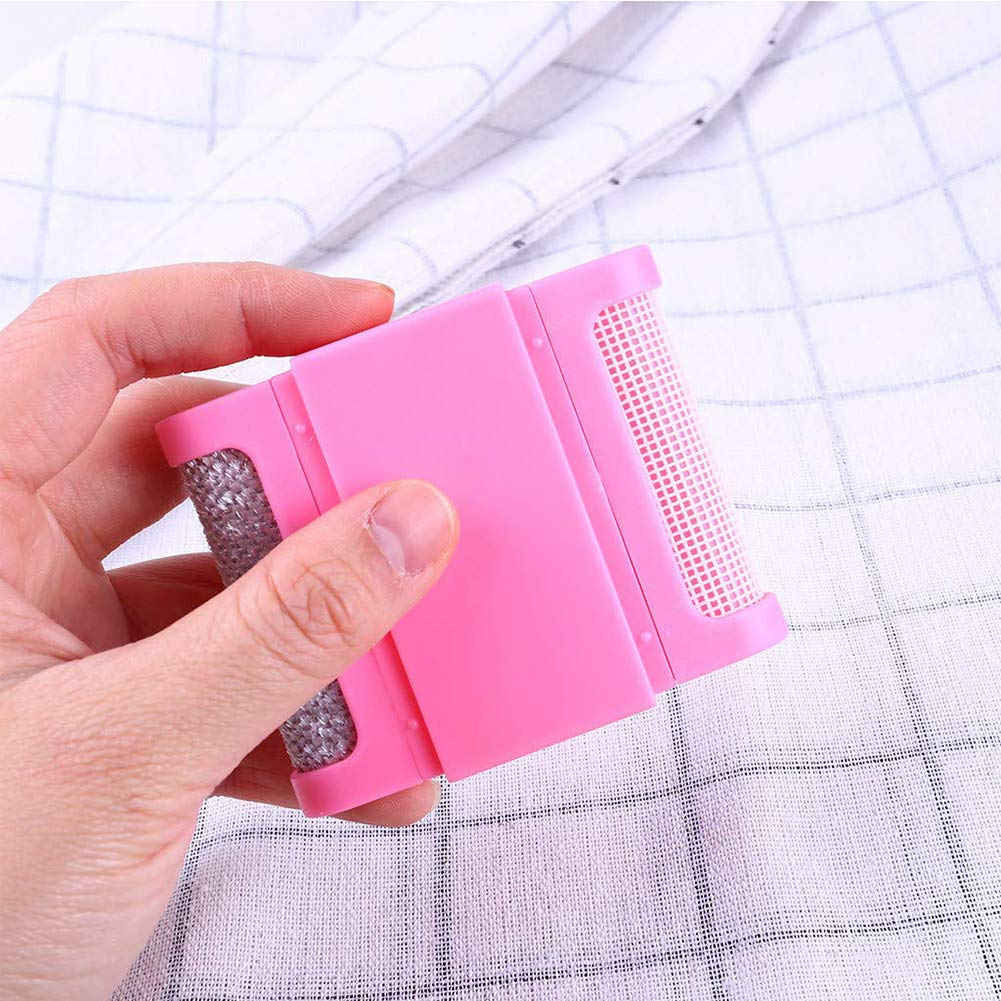 Pull Peigne Anti-peluches Portable R/éutilisable Mini Petit Lint Peigne Tissu Brosse Rasoir Pour V/êtements Pull Noir 1pc