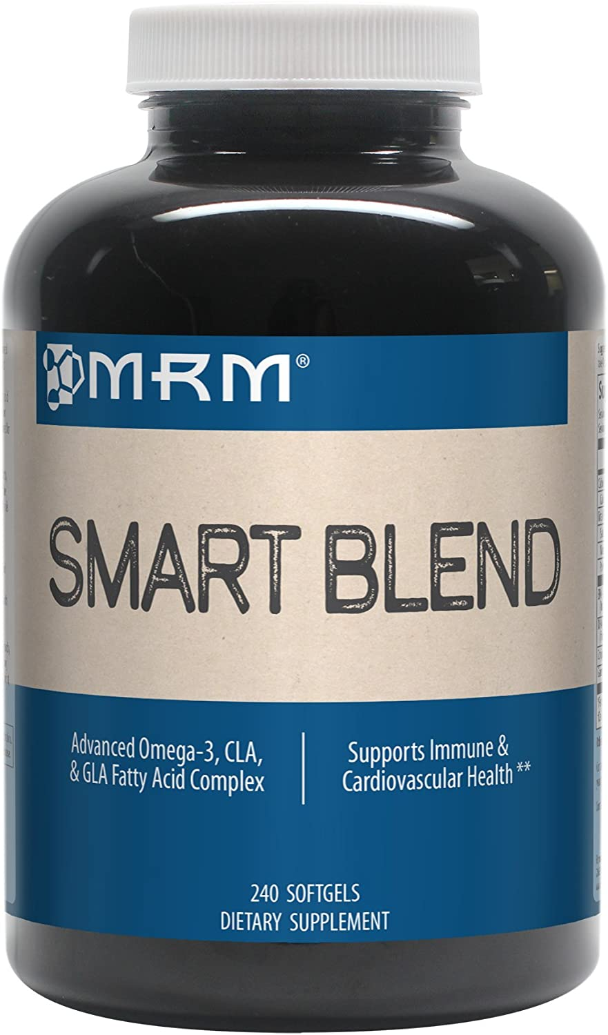 MRM – Smart Blend, Advanced CLA, GLA and Omega Fatty Acid Complex 240 Count Softgels