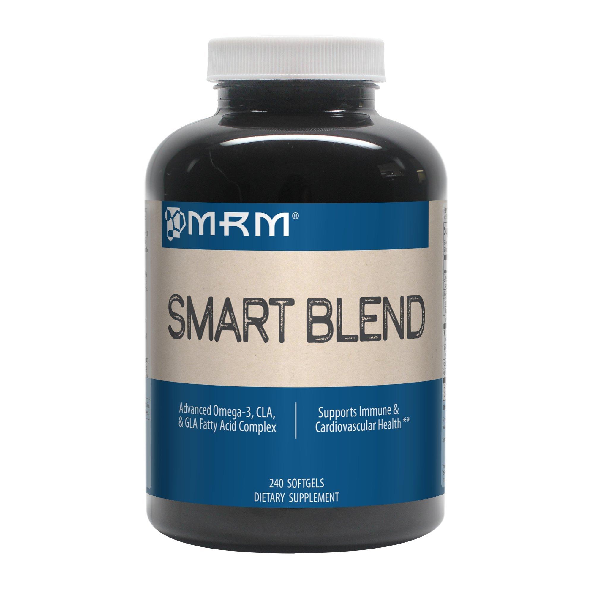 MRM - Smart Blend, Advanced CLA, GLA and Omega Fatty Acid Complex (240 Count Softgels)