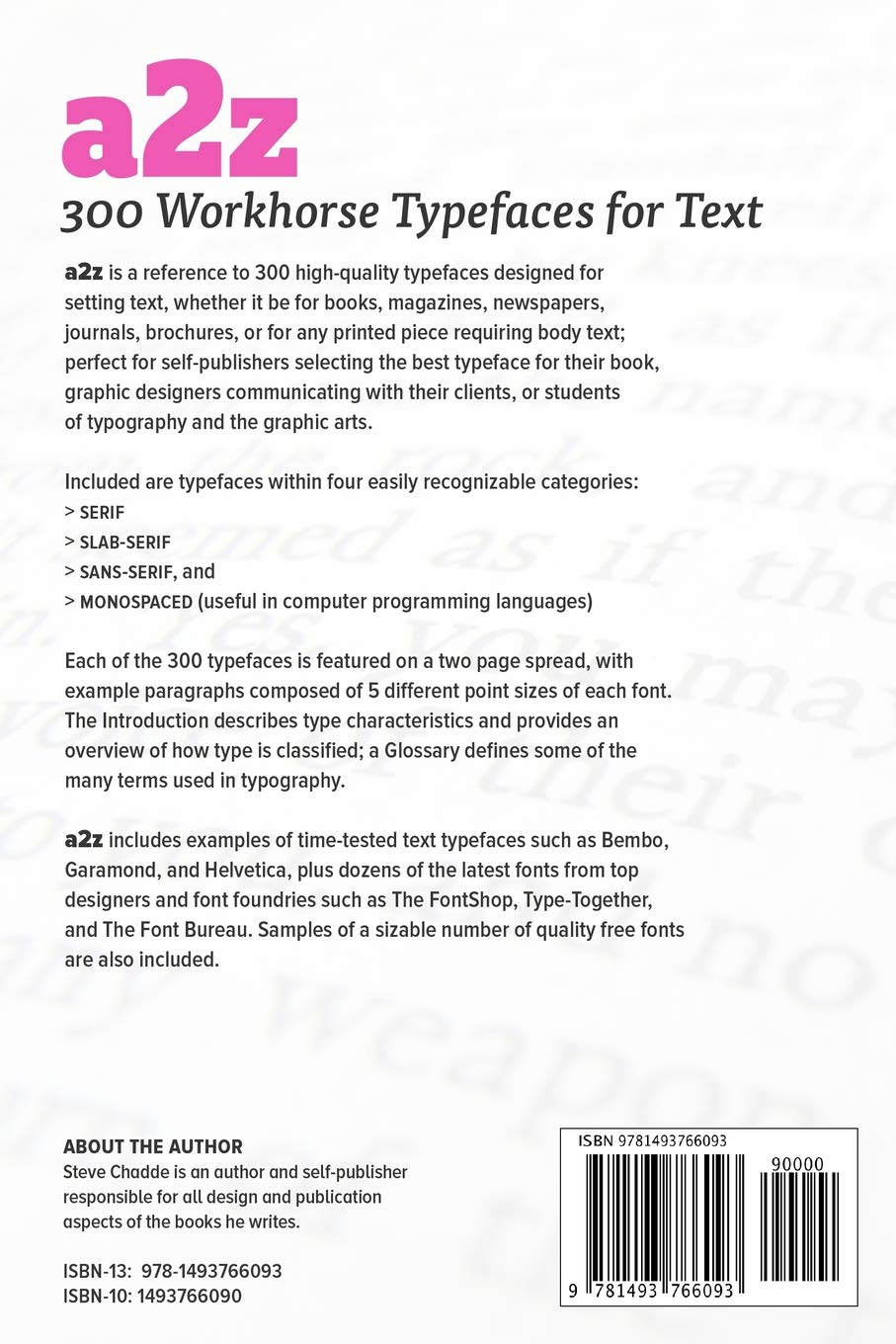 Buy A2z: 300 Workhorse Typefaces for Text Book Online at Low