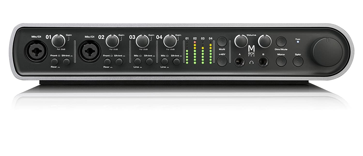 Amazon.com: Avid Mbox Pro High-Resolution 8x8 Audio Interface for Mac and  PC: Musical Instruments