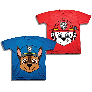 Clothes, Shoes & Accessories Frank Paw Patrol Official Gift Boys Kids Character T-shirt Rocky Chase Rubble Skye Fine Quality