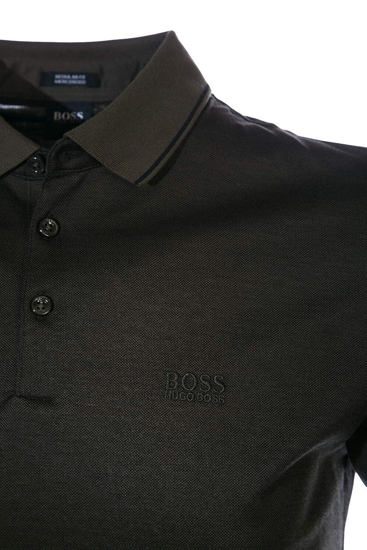 1ce4ef6ec Amazon.com: BOSS Polo Shirt Prout 10 in Black: HUGO BOSS: Clothing