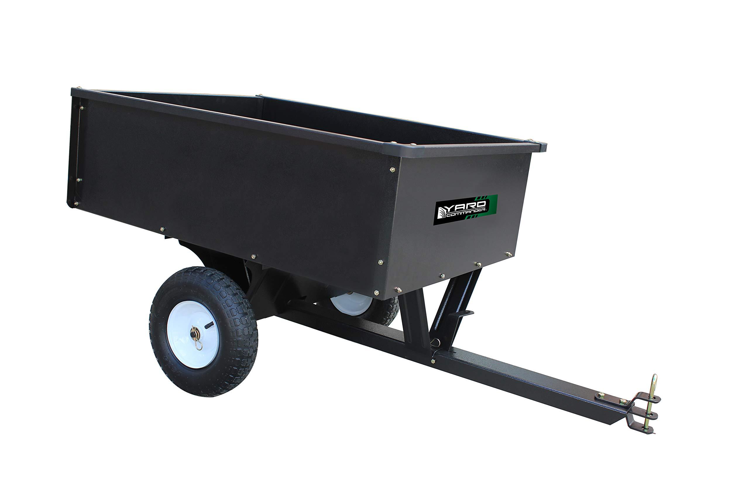 10 Cubic Foot Steel Dump Cart by Yard Commander
