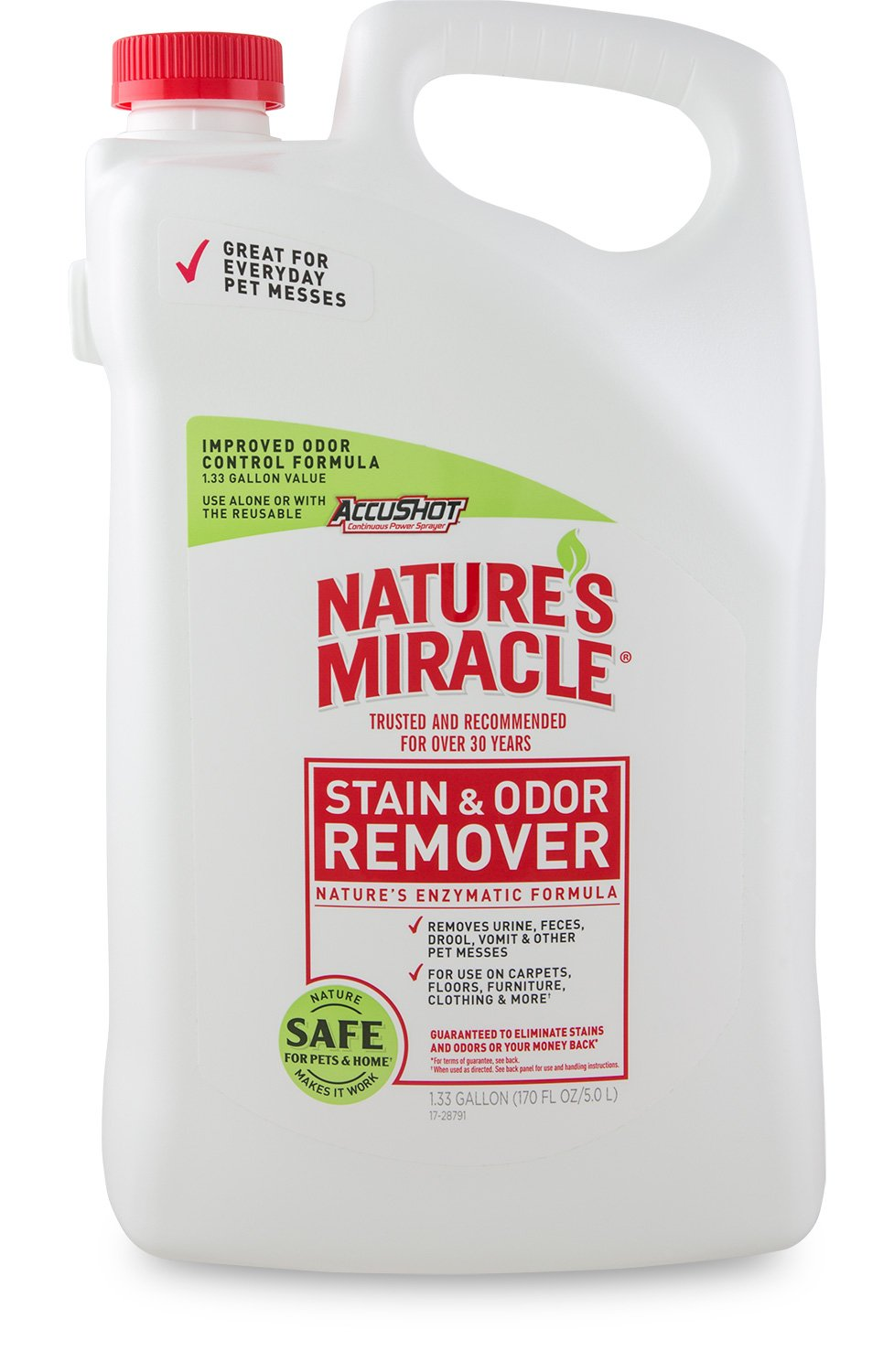 Nature's Miracle Stain & Odor Remover, 1.33 gallon (P-96930)