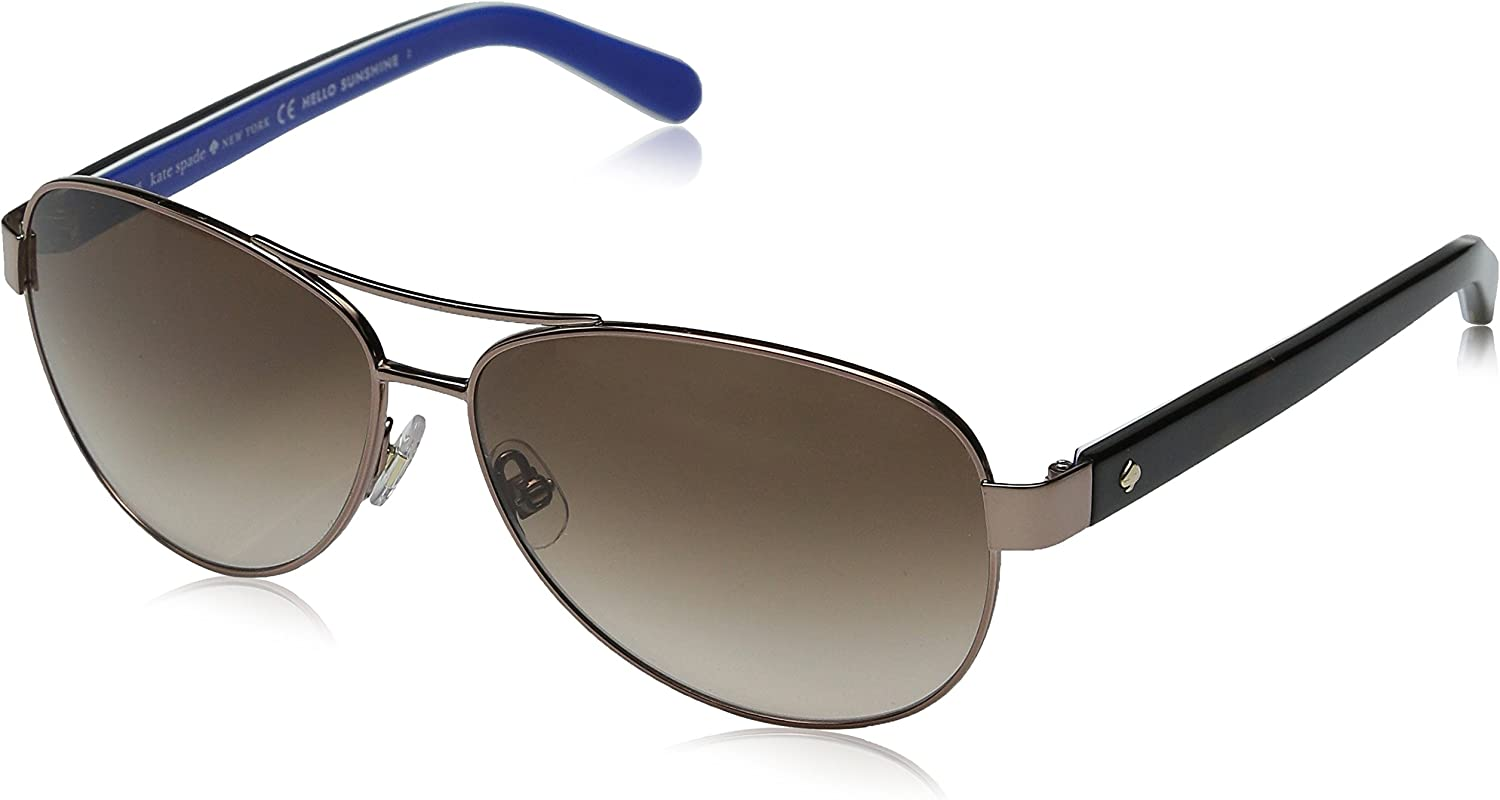 Kate Spade New York womens Dalia 2 Aviator Sunglasses