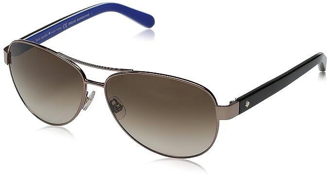 16210d3573e5 Kate Spade Women's Dalia 2 Aviator Sunglasses, Brown & Brown Gradient, ...