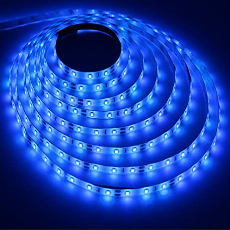 Innozon Led Light Strip, 16.4ft DC12V With 300 SMD3528 LEDS, Waterproof And  Flexible