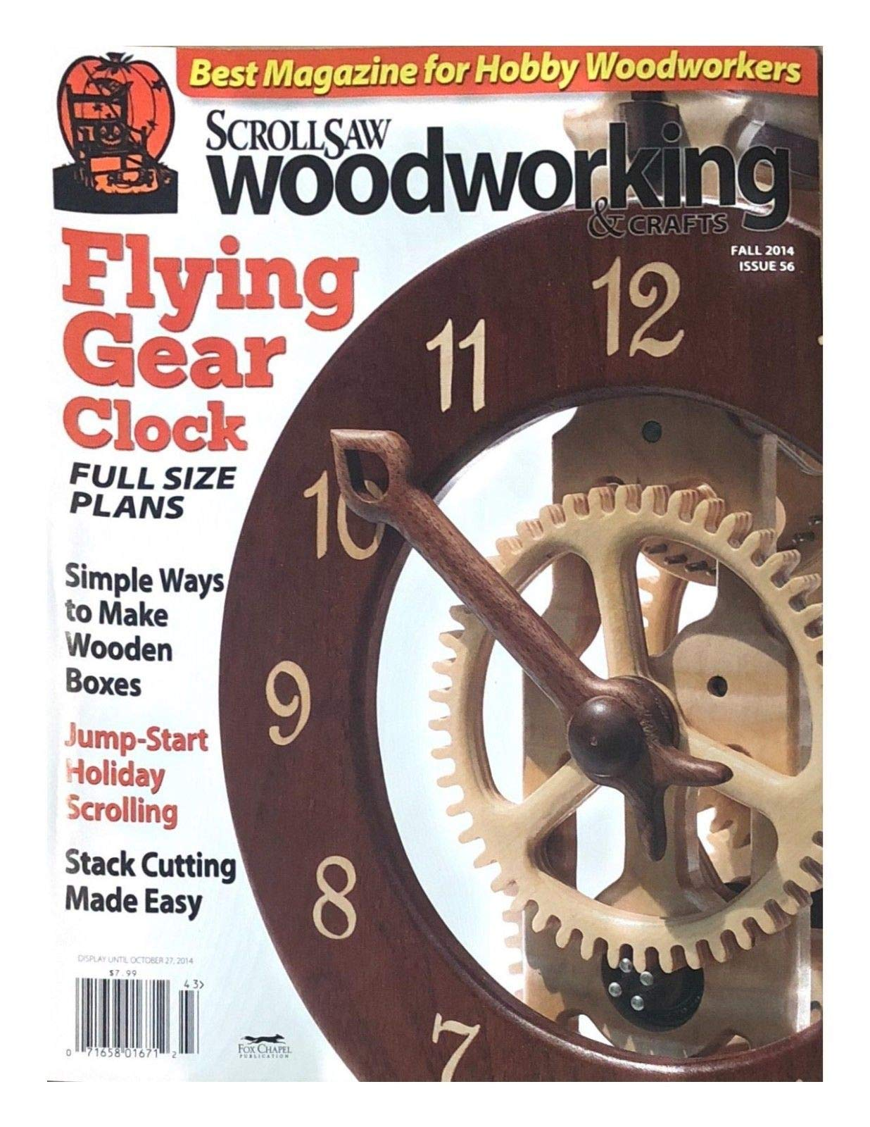 SCROLL SAW WOOD WORKING & CRAFTS MAGAZINE, FALL 2014 ISSUE 56
