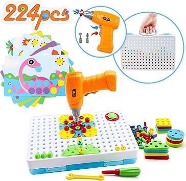 Amy \u0026 Benton Puzzle Regalo Bambini 3 Anni, Costruzioni Giocattoli