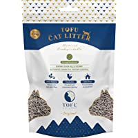 Biodegradable Tofu Cat Litter Australia | Flushable Litter | Dust Free | Strong Deodoriser | 6L 2.5KG | Charcoal | Odour…