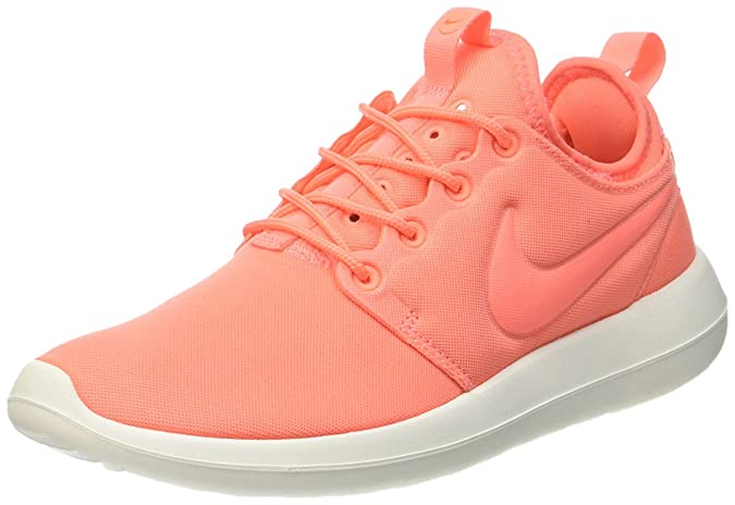 los angeles c7c02 1e21e Nike W Roshe Two Womens Running-Shoes 844931-600 9.5 - Atomic Pink SAIL-Turf  Orange  Buy Online at Low Prices in India - Amazon.in
