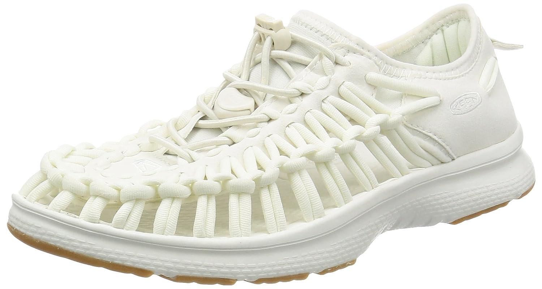 Keen Uneek O2 W, Zapatillas para Mujer 5 B(M) US|White/Harvest Gold