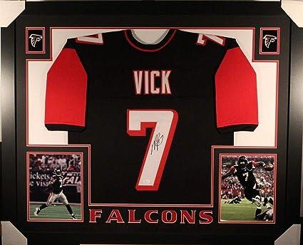 b5f65c8ff47 Autographed Michael Vick Jersey - FRAMED w WITNESSED COA - JSA Certified - Autographed  NFL Jerseys