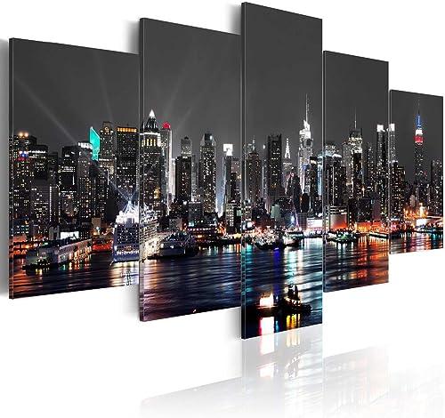 Cityscape New York Canvas Wall Art Decor Picture Print Design Wall Art Painting Decor Decoration