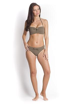 Haut de Bikini Bandeau Olive Amazon Frais De Port Offerts Acheter Pas Cher D'origine Livraison Gratuite Best-seller Meilleure Vente En Gros En Ligne Z88stlP