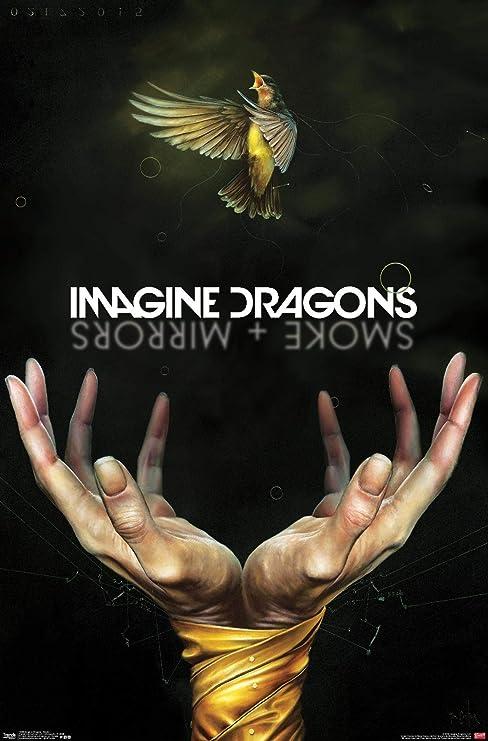 "Imagine Dragons /""Evolve/"" Art Music Album Poster HD Print 12/"" 16/"" 20/"" 24/"" Sizes"