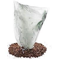 HaGa-Welt.de Frost Beschermhoes 50 g/m² Fleece voor kuipplanten en rozen (55cm x 75cm)