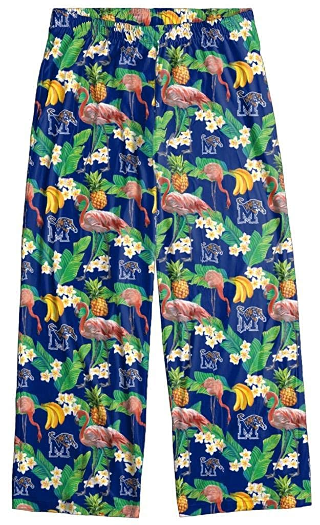 Memphis Tigers Mens Scatter Pattern Floral Pajama//Lounge Pants