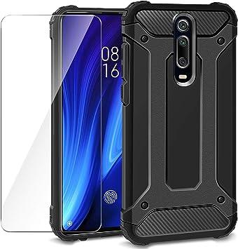 AROYI Funda Xiaomi Mi 9T + Protectores de Pantalla in Cristal ...