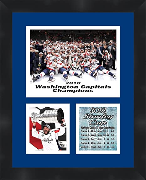 590f6f6b6 Image Unavailable. Image not available for. Color  Washington Capitals 2018  Stanley Cup Champions Alex Ovechkin Framed ...