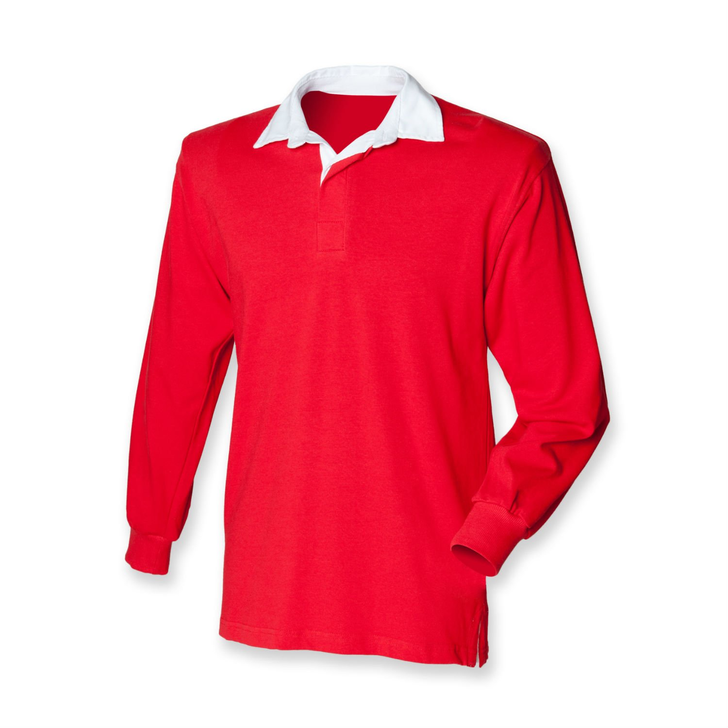 Front Row Boy's Long Sleeve Classic Rugby Shirt