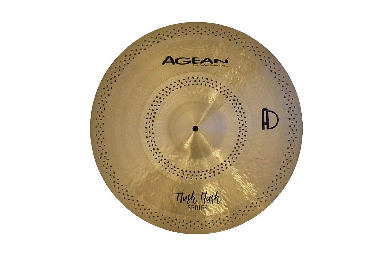 驚きの価格が実現! Agean Cymbals 16-inch Hush Cymbals Hush Hush Hush Crash B07NCHX93L, 家具のファンタス:af55c865 --- a0267596.xsph.ru