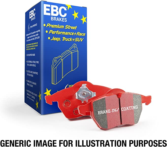 EBC YellowStuff Front Brake Pads for Audi A5 Cabriolet B8 1.8 Turbo 158 DP41986R