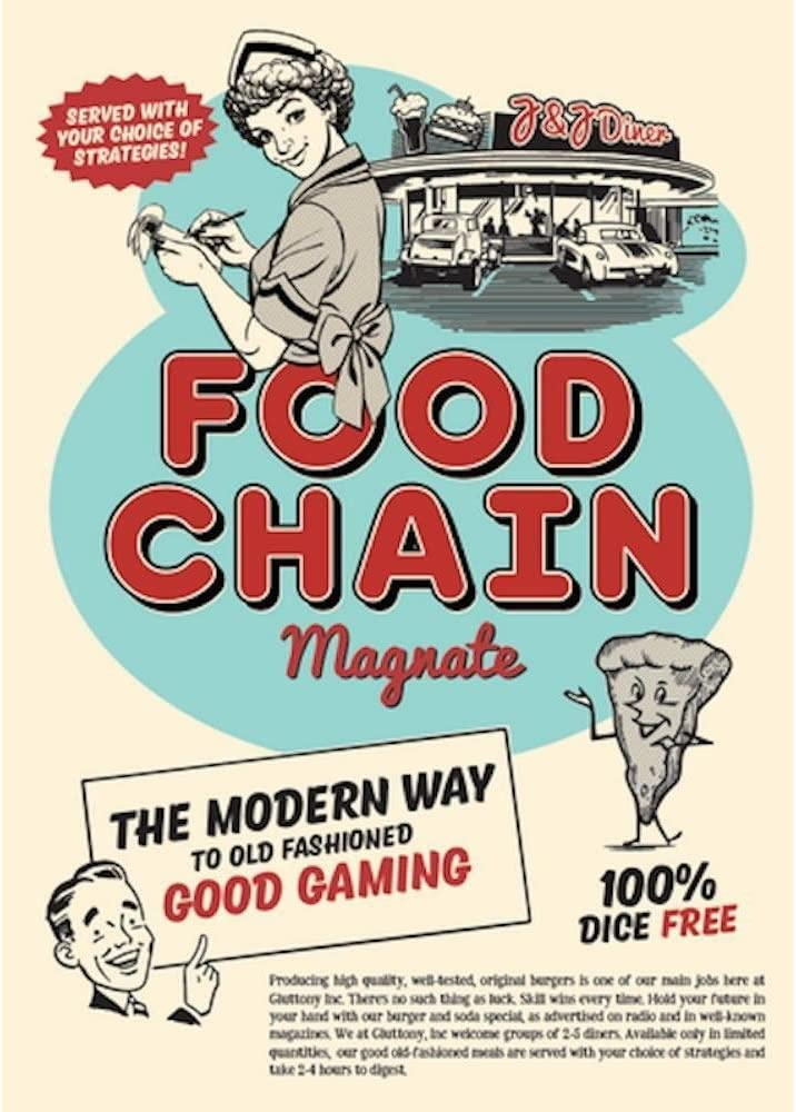 Food Chain Magnate - First edition, fourth printing (2016): Amazon.es: Juguetes y juegos