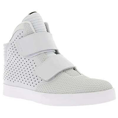 Nike Mens Flystepper 2K3 PRM Action Red White Casual Sneaker   Fashion Sneakers