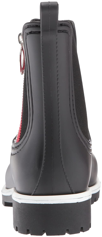 Bernardo Women's Zip B(M) Rain Boot B06XYYLPDS 9 B(M) Zip US|Black Rubber 5bc5b5