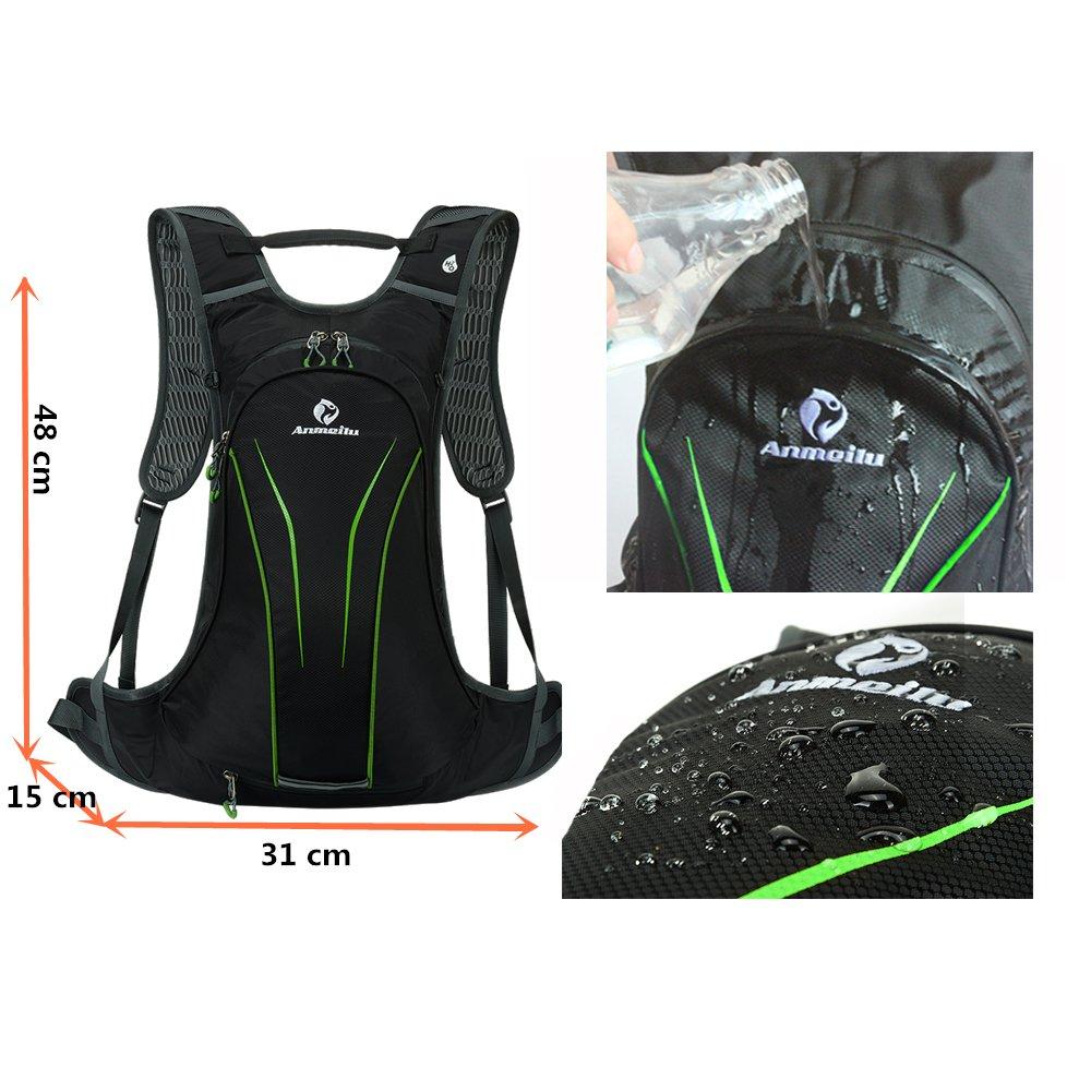 15L Fahrrad R/ücksack mit 2I Trinkblase Trinkbeutel SUNSEATON Hydration Rucksack Fahrradrucksack f/ür Wandern Klettern Radsport Camping Trekking Outdoor Sports
