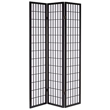 hartleys japanese style folding wooden room divider amazon co uk rh amazon co uk Room Dividers Google Room Divider Screens Amazon