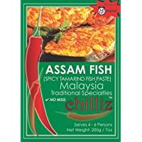 Chilliz Assam Fish Paste 200 g