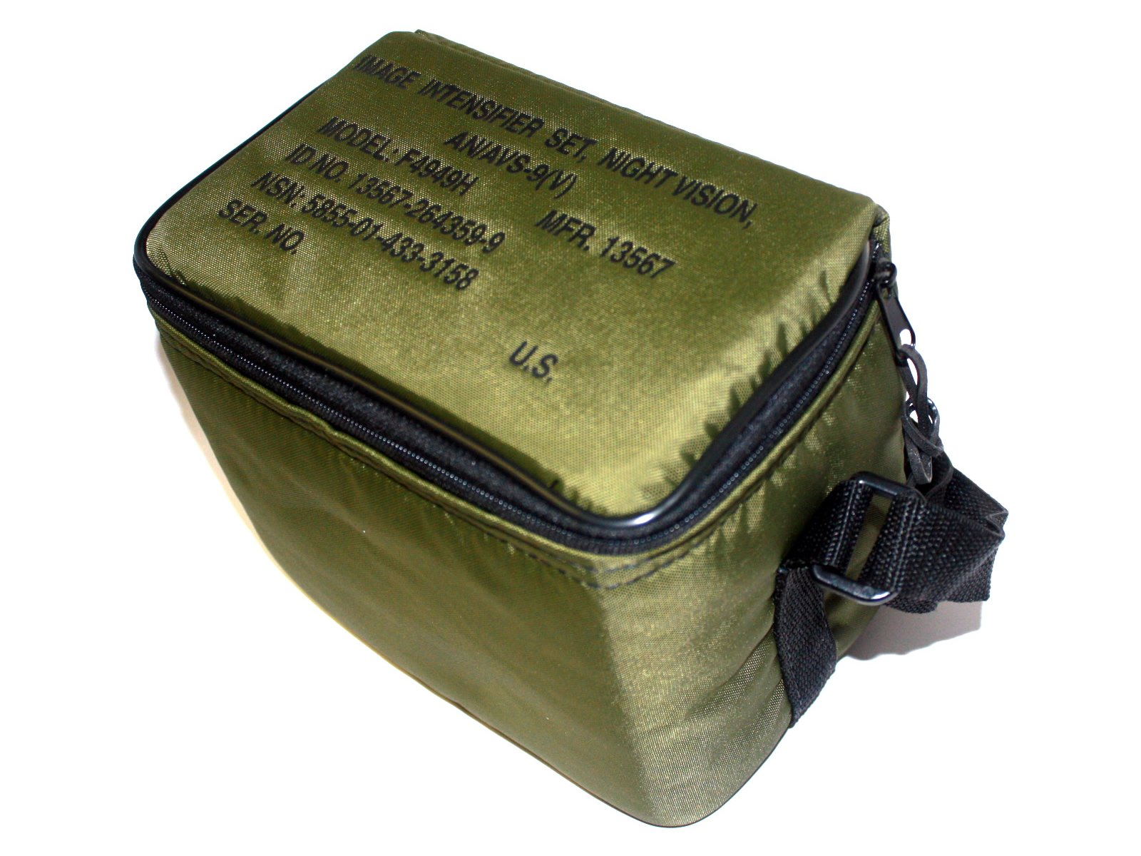 AN/AVS-9(V) F4949H ANVIS Night Vision Goggle NVG OD Green Carrying Case with Foam and Strap