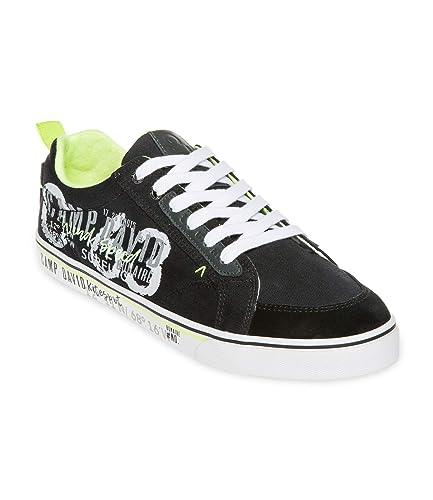 Camp David Sneaker mit Label Print CCU 1900 8620 schwarz