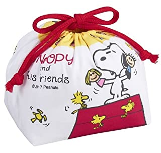 Snoopy Peanuts and Woodstock Bento lunch box borsa da trasporto Osk KB-1