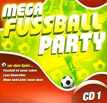 Mega Fussball Party Cd 1 Amazon Com Music