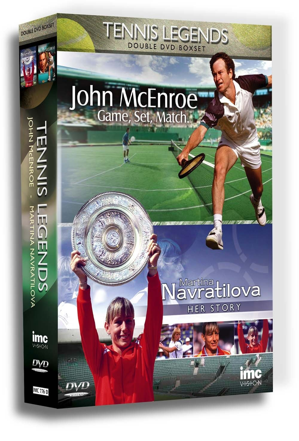 Tennis Legends Double DVD Box Set - John McEnroe - Game, Set & Match and Martina Navratilova - The Story Reino Unido: Amazon.es: John Mcenroe/Martina ...