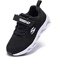 V VICROAD Kids Outdoor Sneaker Athletic Running Shoes Lightweight Breathable Strap Shoes for Boys Girls