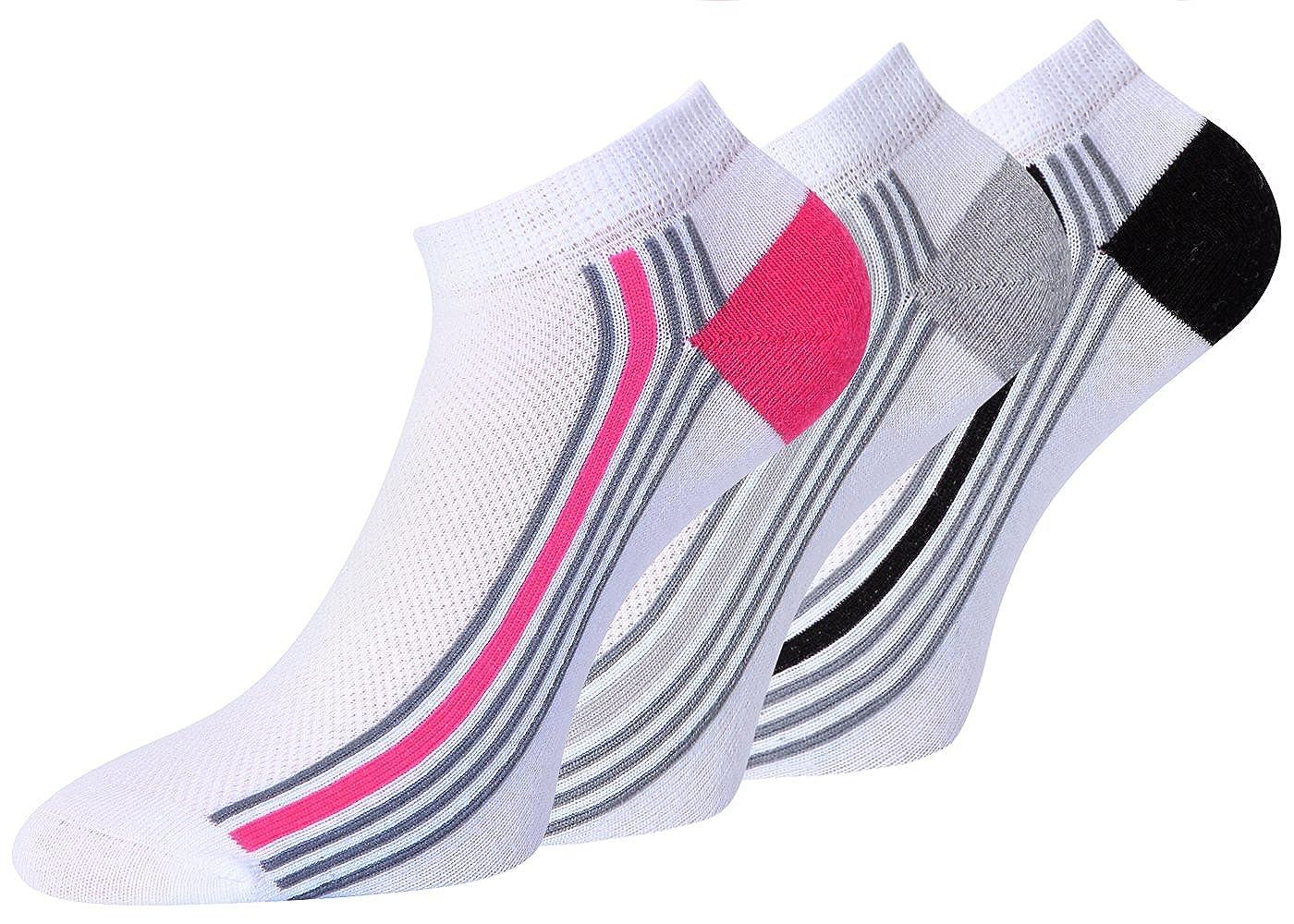 kb Socken Herren Sneaker Socken schwarz Socken Sneaker Baumwolle Spitze Handgekettelt, 1 Paar oder 8 Paar