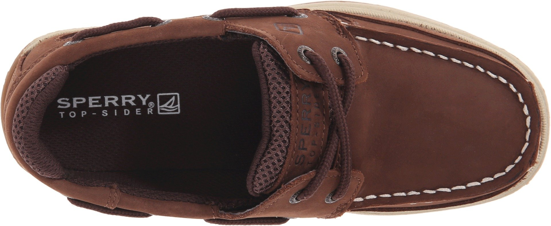 Sperry Boy's Kids, Lanyard Boat Shoes Brown 4 M by Sperry (Image #2)