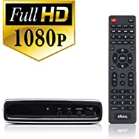 Exuby Digital Converter Box for TV with RCA AV Cable for Recording and Watching Full HD Digital Channels - Instant…